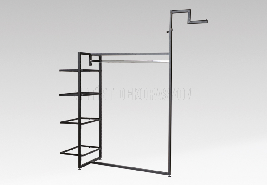 Medium stand with shelves